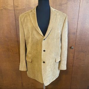 CALVIN KLEIN big and tall corduroy blazer